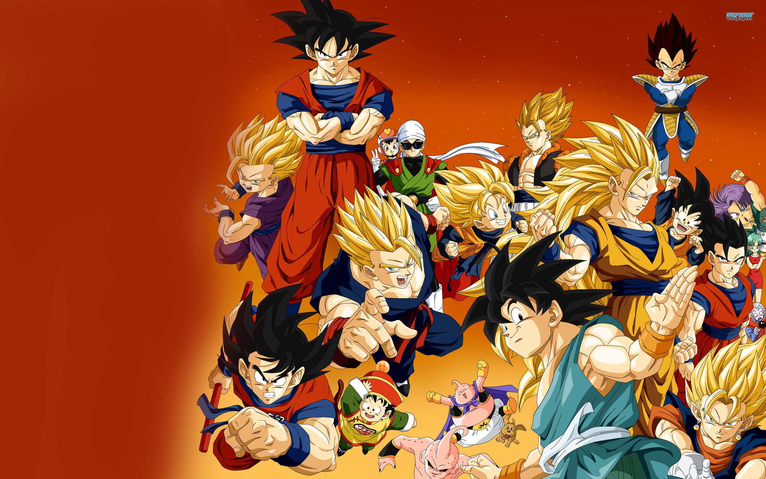 Dragon Ball Z Wallpapers Goku Pixelstalk Net