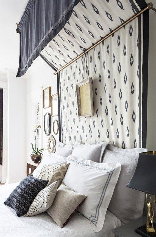 DIY Canopy Bed by Megan Pflug of One Kings Lane for Design*Sponge / Photos by Lelsley Unruh