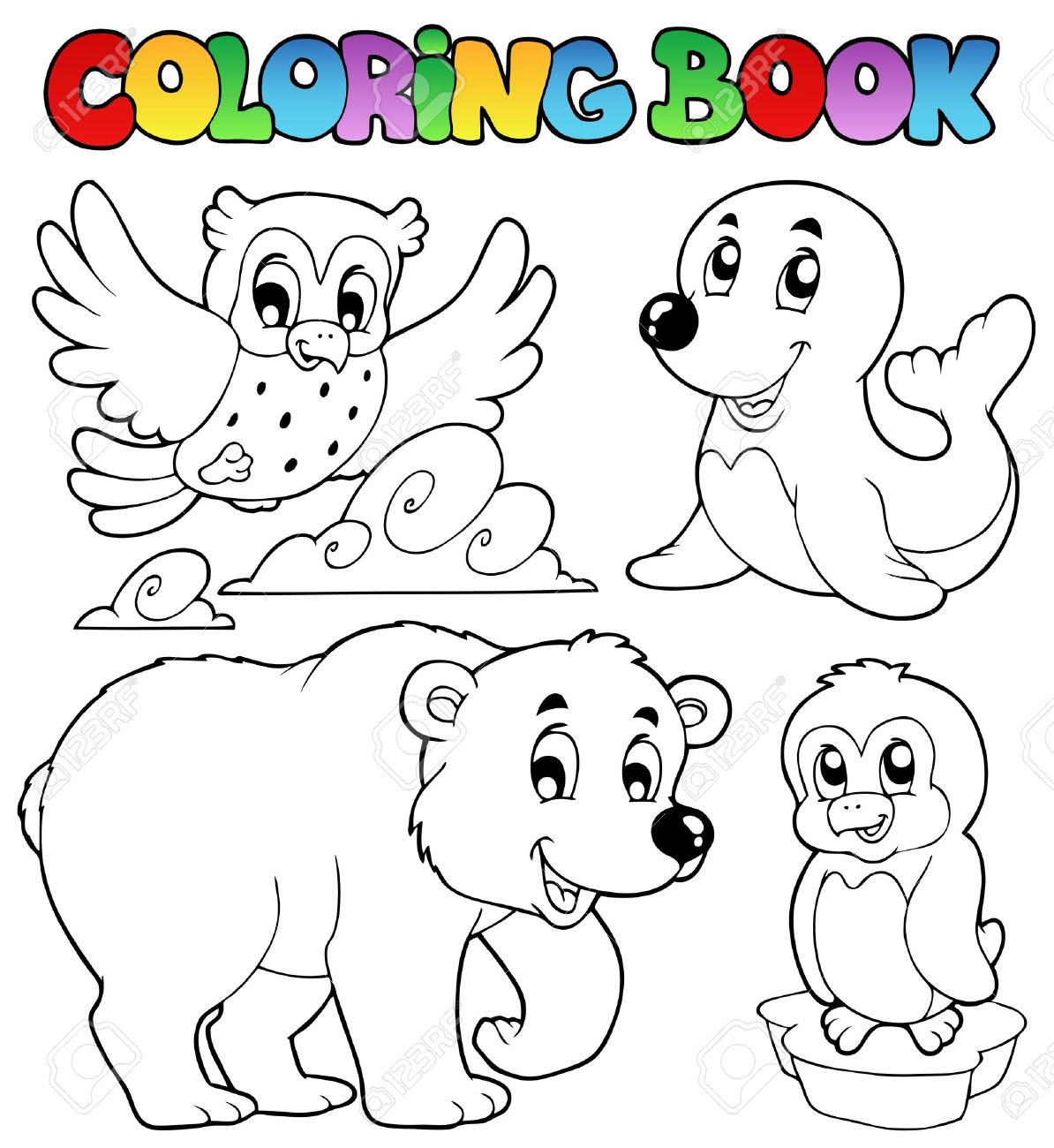 Winter Animals Drawing at GetDrawings.com | Free for ...