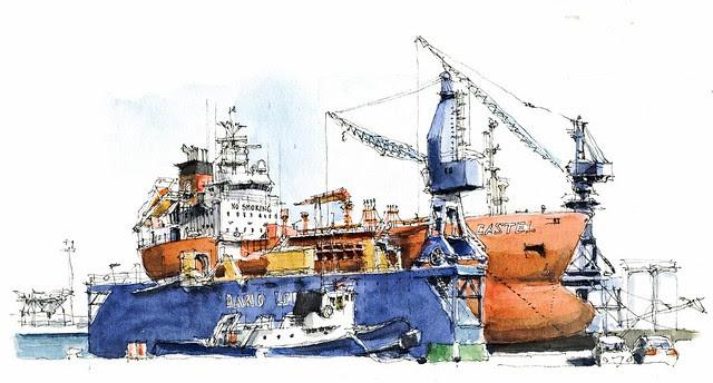 Port of Málaga, dry dock