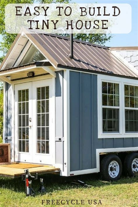 easy  build  tiny house plans freecycle usa