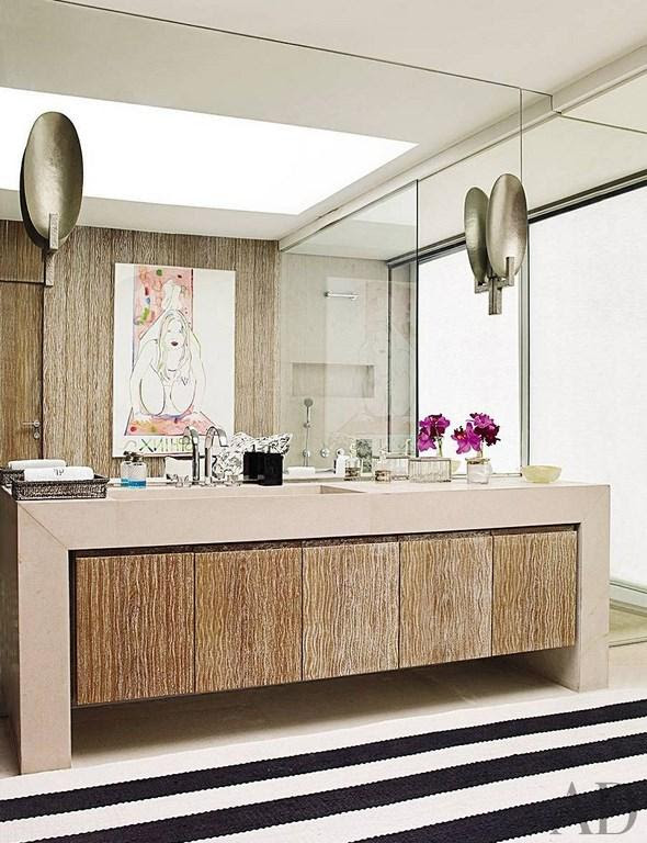 Art Deco Bathrooms In 23 Gorgeous Design Ideas - Rilane