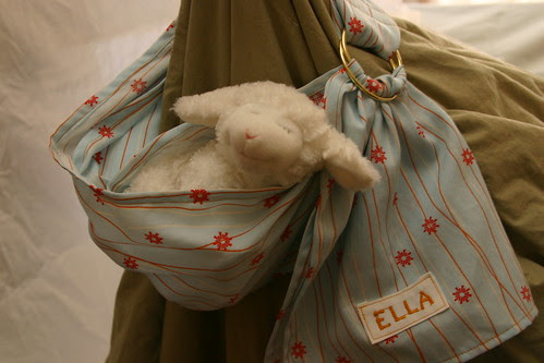 ella's doll sling