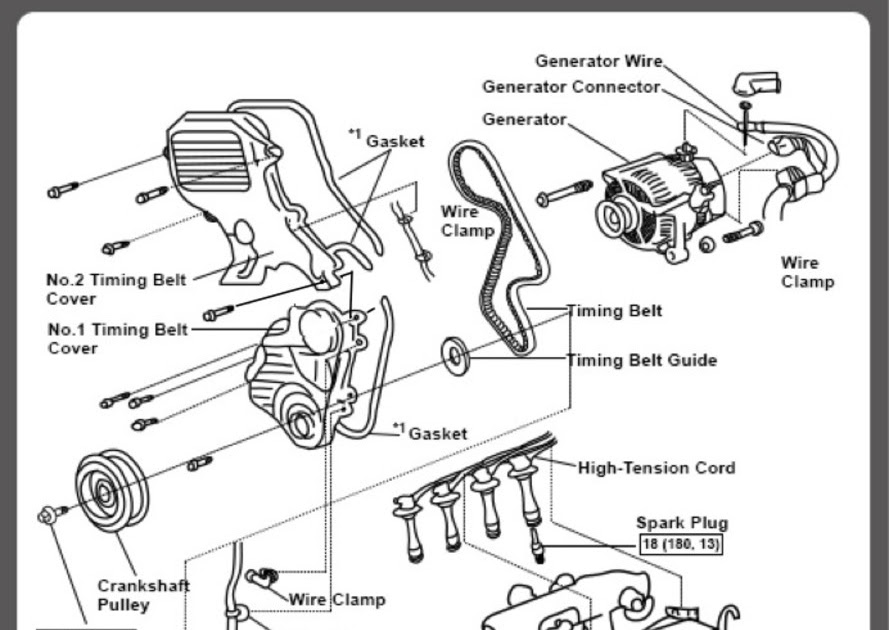 2000 Toyota 3 4 V6 Engine Diagrams