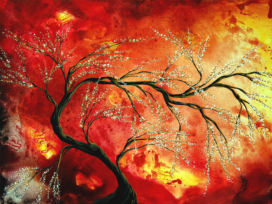Abstract Tree Art Paintings