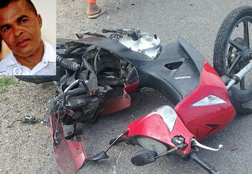 Policial Militar foi arremessado da moto após ser atingido por carro