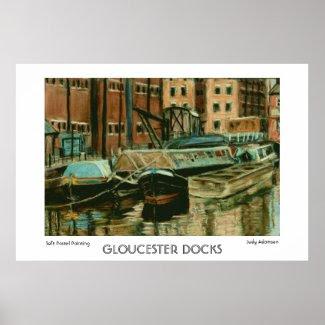 Gloucester Docks Print or Poster print