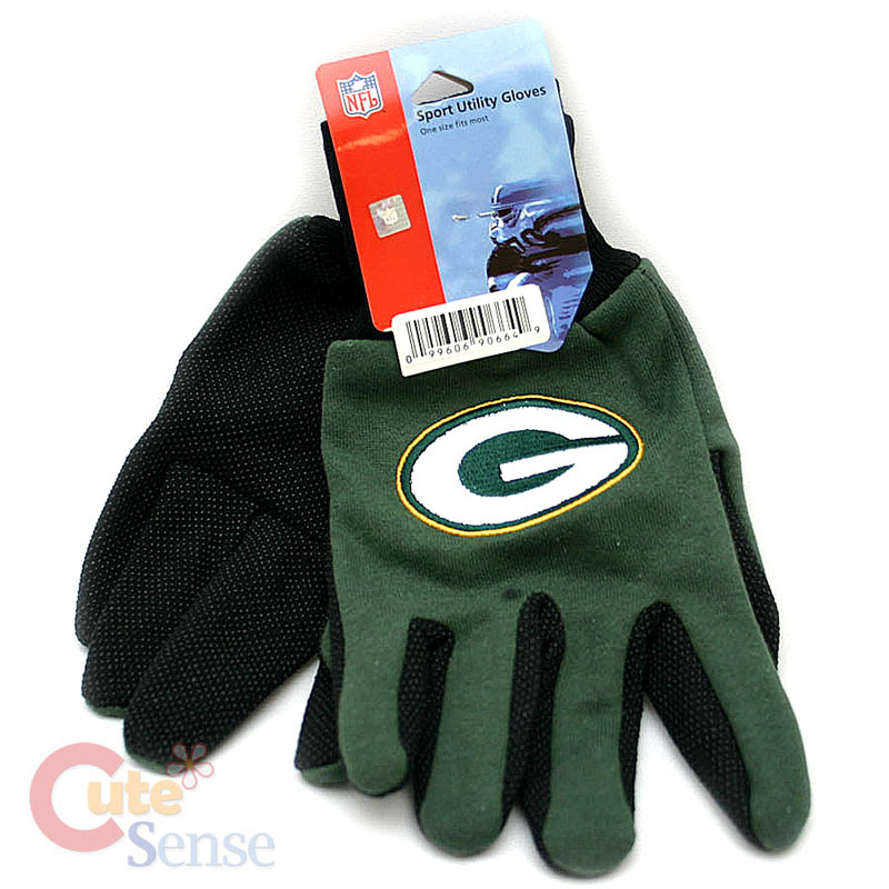 NFL Green Bay Packers Sports Utility Work Mens Gloves eBay