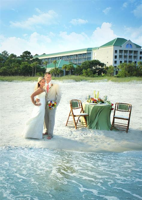 Beach Wedding Ceremony   The Westin Hilton Head Island