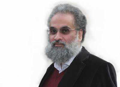 Sanjay Subrahmanyam, historian and author. (TOI photo)
