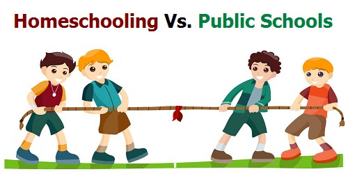 Image result for homeschool vs public school