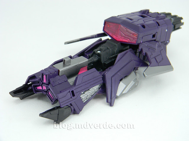 Transformers Shockwave Deluxe - Generations FoC - modo alterno