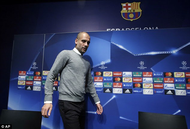 Guardiola knows his side face a tough task to beat his former club on Wednesday night