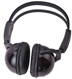 Wireless IR Car Headphones For Kids