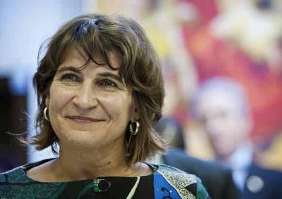 Lilianne Ploumen, ministra holandesa de Comercio. Foto: Tomada de www.mexicoxport.com