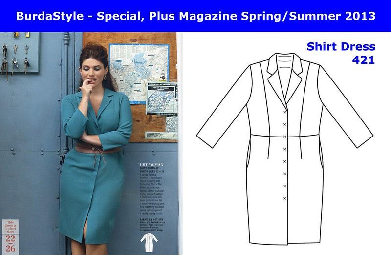 06 - BurdaStyle - PLUS Magazine Spring-Summer 2013