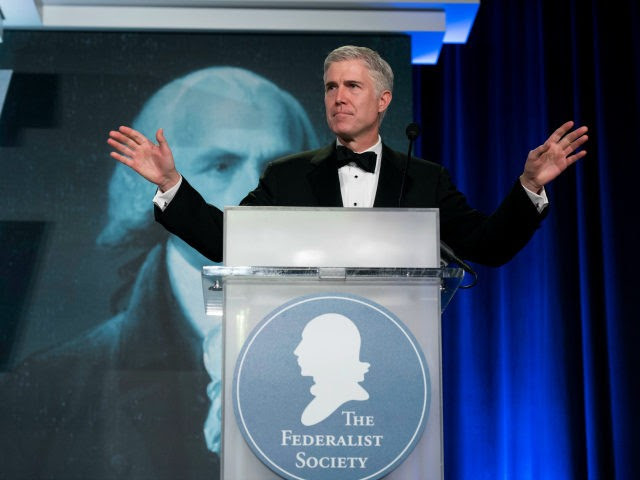 Image result for neil gorsuch federalist society