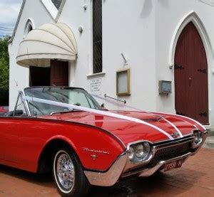 1966 Red Convertible Mustang Hire Melbourne