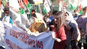 Gritar contra Marruecos, pero apartados de la embajada