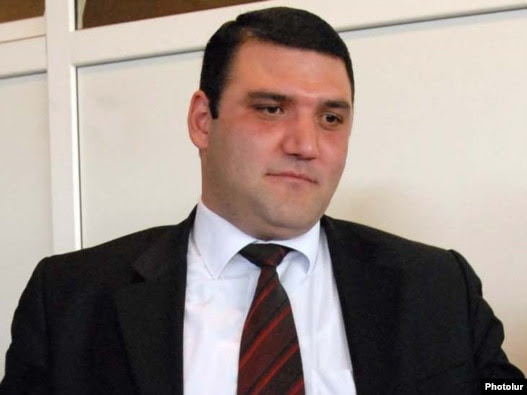Armenia -- Gevorg Kostanian, the newly appointed chief military prosecutor.
