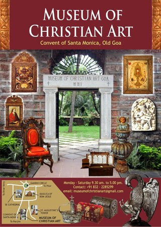 Museum of Christian Art Goa India Location Map,Location Map of Museum of Christian Art Goa India,Museum of Christian Art Goa India accommodation destination attractions hotels map reviews photos pictures