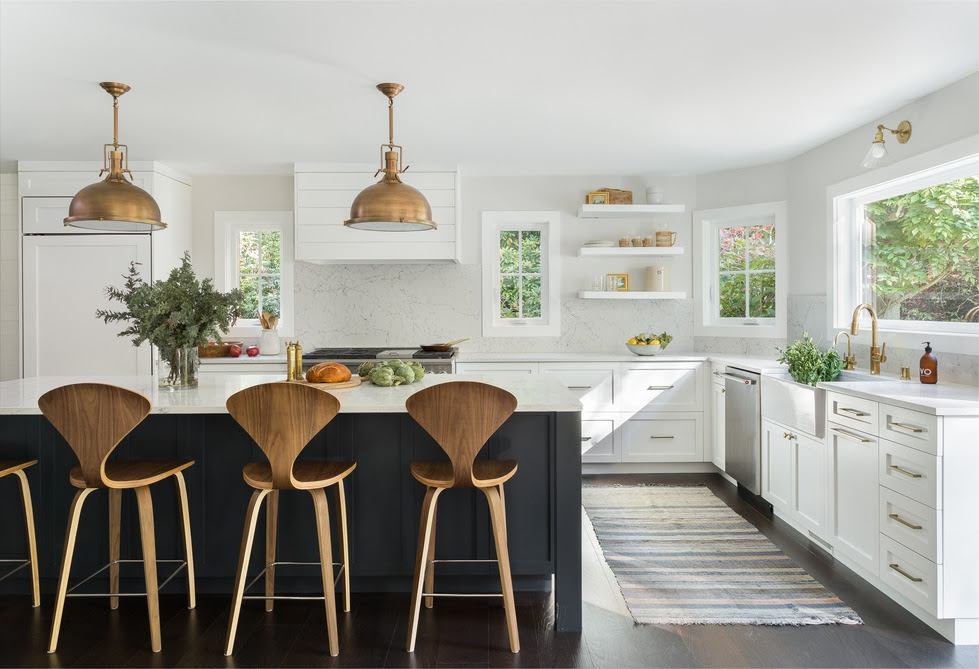 6 New Ideas For Black And White Kitchens Decorist