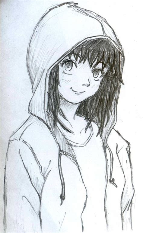 hoodie girl  diyanahnadzree  deviantart art