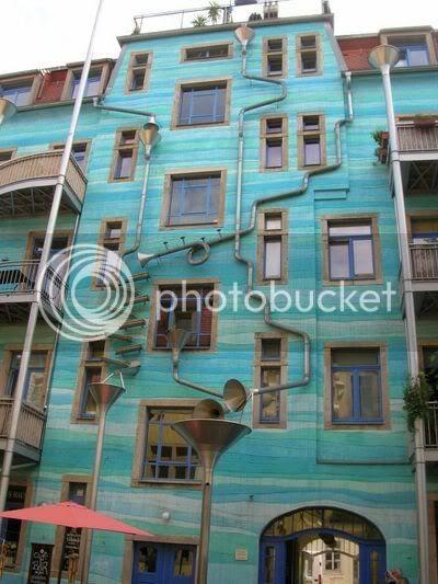 musical rain funnel in germany