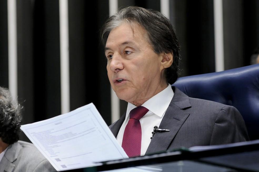 O presidente do Congresso, senador Eunício Oliveira (PMDB-CE) (Foto: Waldemir Barreto/Agência Senado)