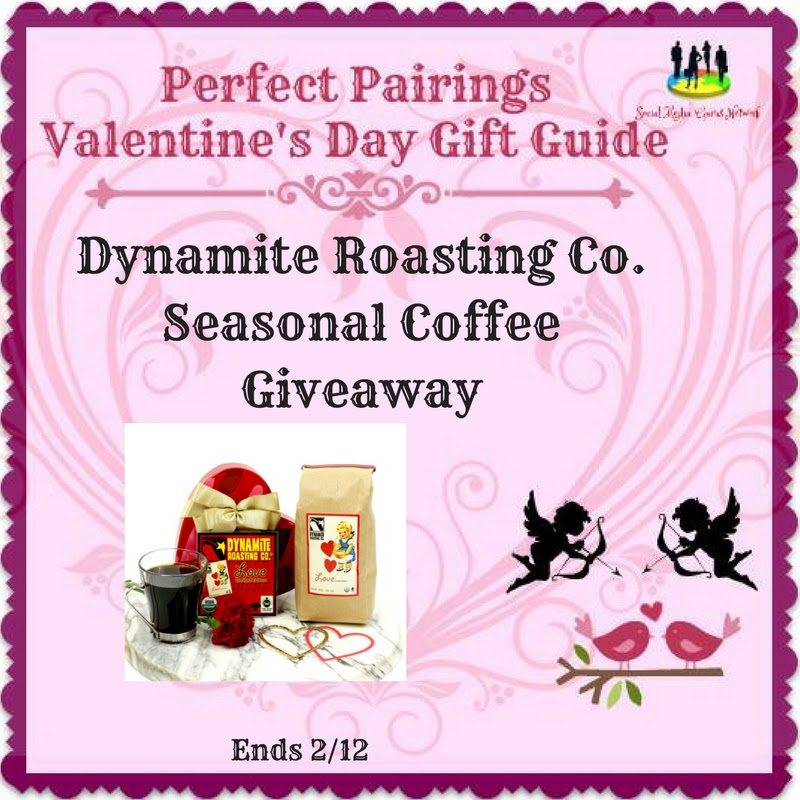 Enter the Dynamite Roasting Co. Seasonal Coffee Giveaway. Ends 2/12