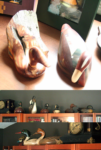 Wooden duck collections