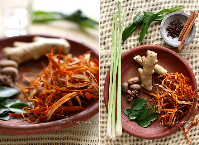 Bir Pletok (the ingredients)
