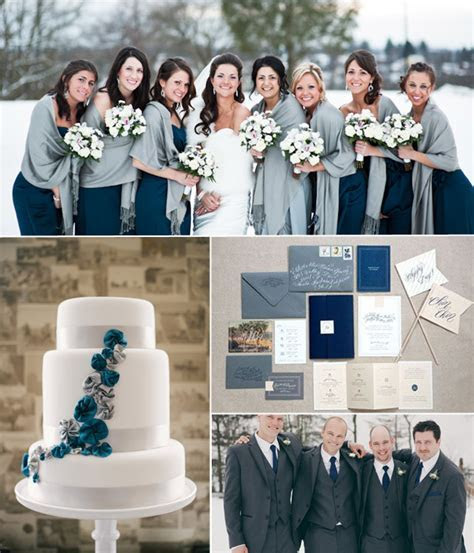 Top 6 Classic Winter Wedding Color Combo Ideas & Trends