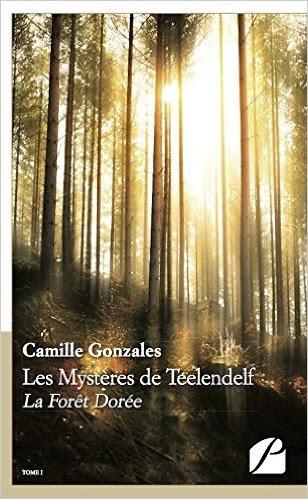 Couverture Les Mystères de Teelendelf : La forêt dorée