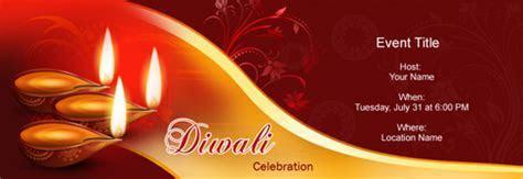 Free Diwali / Deepavali invitation with India?s #1 online tool
