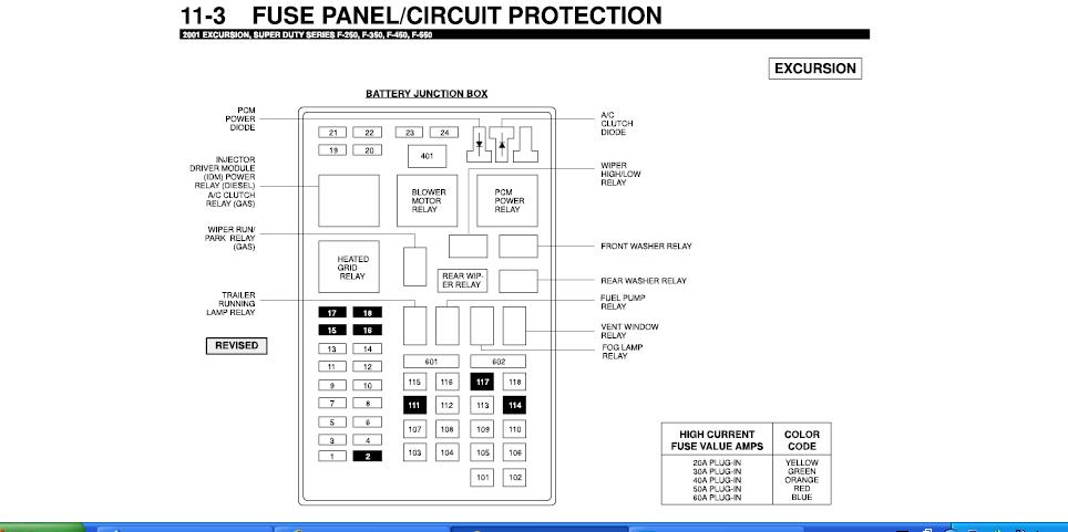 Diagram Fuse Panel Diagram For 2001 Ford F350 Diesel Full Version Hd Quality F350 Diesel Customwiringdfw Media90 It