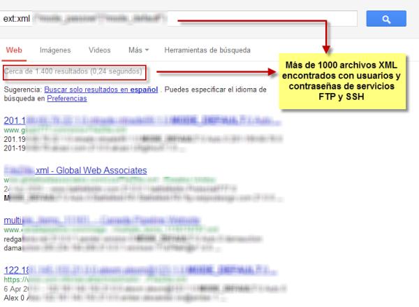 Usuarios y Contraseñas FTP y SSH