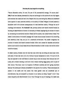 The Handmaid Tale Essay Gcse English Marked By Teacherscom