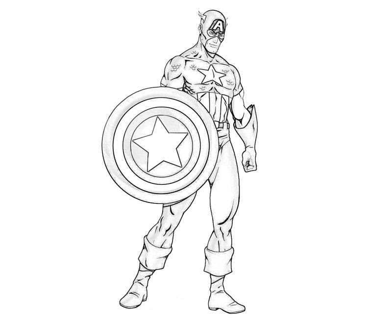 Captain America Flying Coloring Page - Free Coloring Pages Online   667x800
