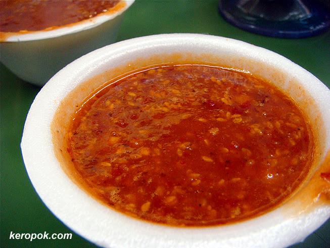 Indian Rojak Sauce