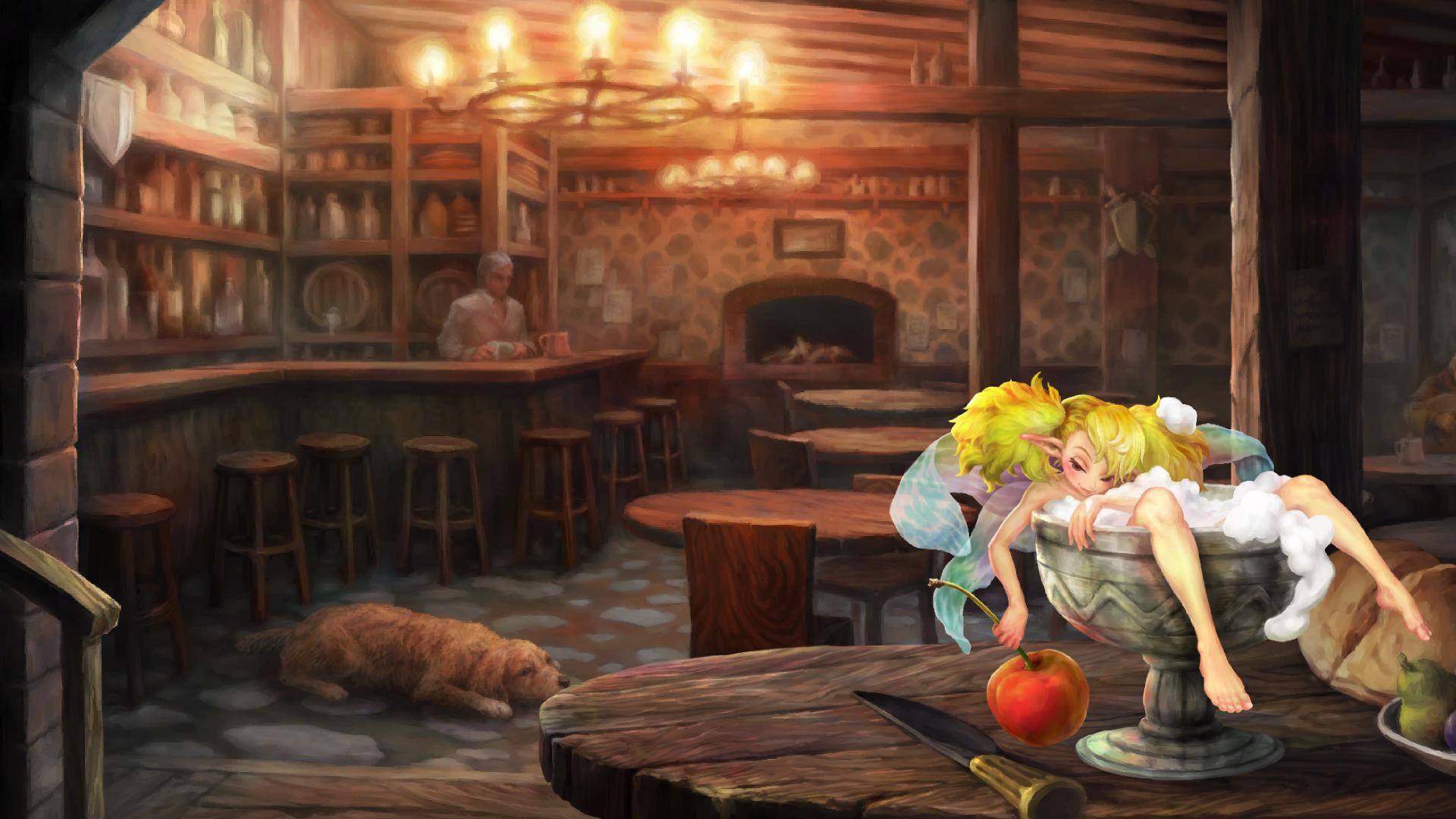Good Image Of The Dragon S Haven Inn Dragon S Crown Message