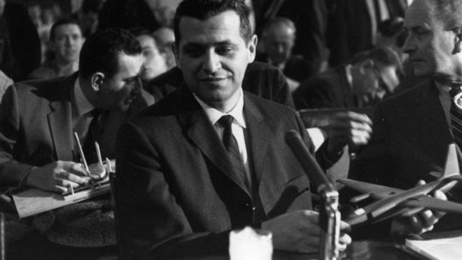 Francis Gary Powers at a Senate Committee hearing