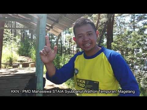 KKN STAIA SW-Relawan Adi Surya Bersih Jalur Pendakian Gunung Sumbing