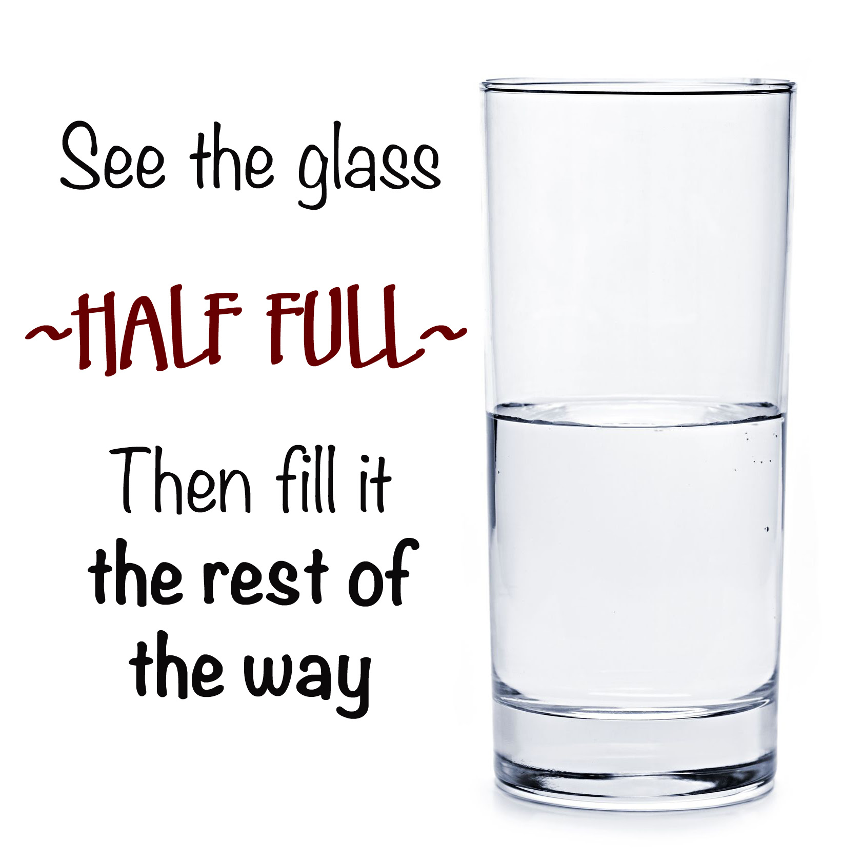 Quotes About Half Full Glass 68 Quotes