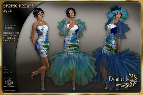 DANIELLE Spring Dream Aqua