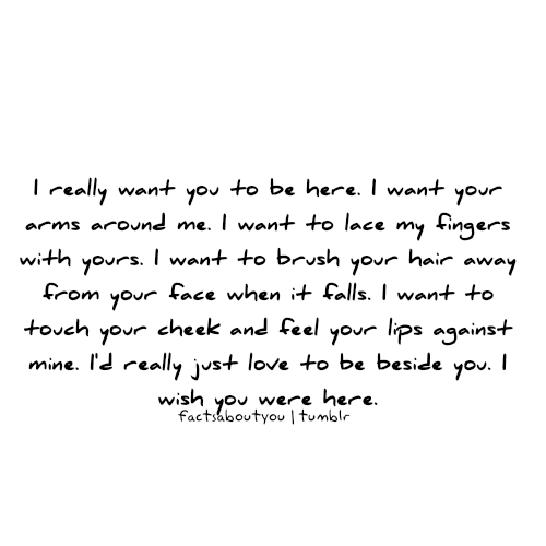 I Really Want You To Be Here Fact Quote Graphics99com