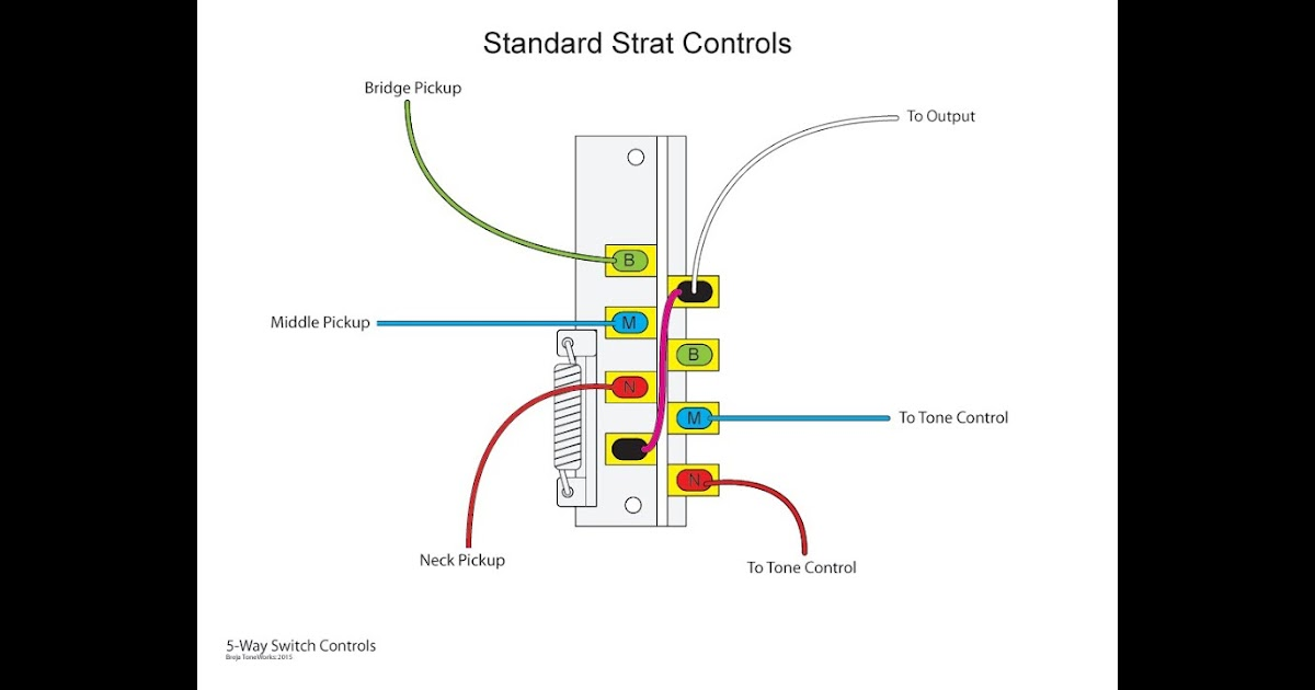 5 Way Switch Wiring Diagram