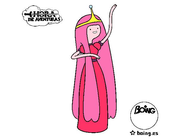 Dibujo De Dulce Princesa Pintado Por Paola89 En Dibujosnet El Día