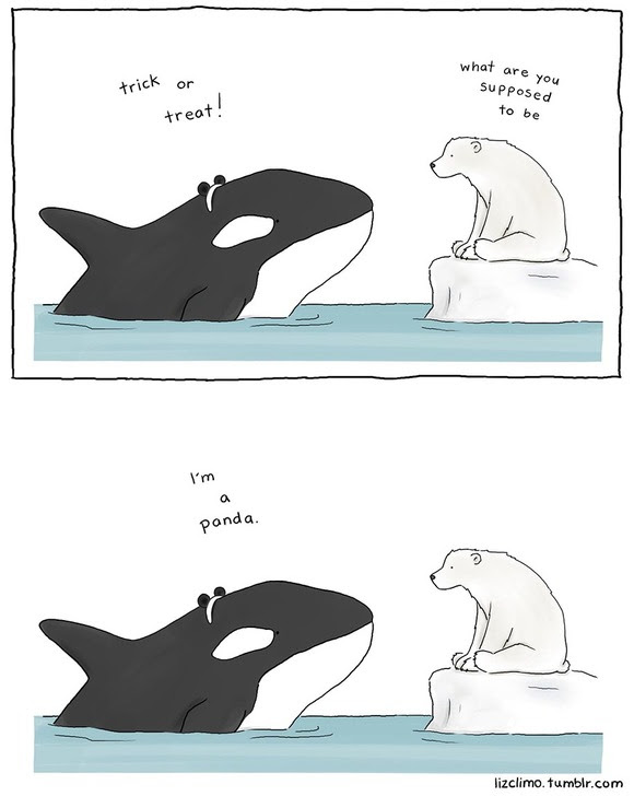 ほのぼのとしたオチがある動物漫画可愛い動物イラストとほのぼのした