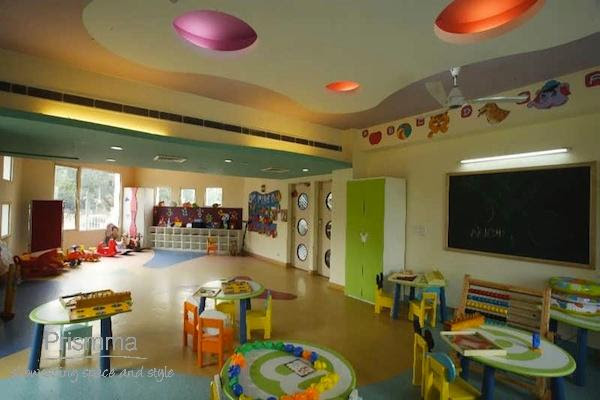 Playschool Interior Design Adarshila Vatika By Spaces Architects